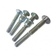 Болт зажимной AVDEL Infalok 2854 полукруг, сталь, цинк