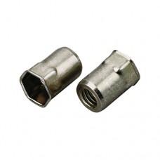Заклепка резьбовая AVDEL Hexsert 9688 потайной фланец, шестигранная, сталь, цинк