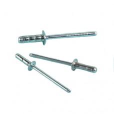 Заклепка вытяжная AVDEL Stavex BS01 полукруг, сталь, цинк