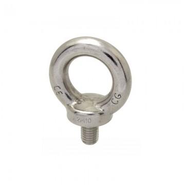 Рым-болт DIN 580 кованый высокопрочный с кольцом