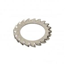 Шайба DIN 6798 A стопорная с наружными зубьями