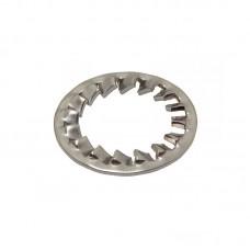 Шайба DIN 6798 J стопорная с внутренними зубцами