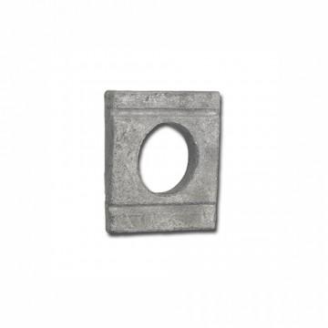 Шайба DIN 434 косая квадратная для швеллеров