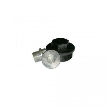 Пробка резьбовая DIN 7604 цилиндрическая с шестигранной головкой и фланцем