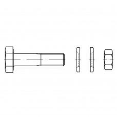 Болт EN 14399-4  высокопрочный с шестигранной головкой, увеличенный