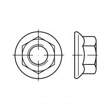 Гайка EN 1661 шестигранная с фланцем