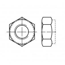 Гайка ISO 10513 шестигранная цельнометалическая