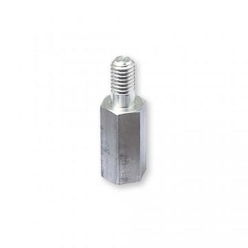 Стойка DREMEC 232 М2,5 алюминий, вн/нар резьба SW=5