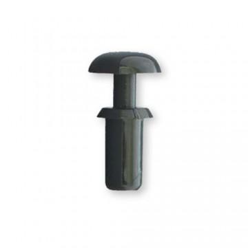 Пистон монтажный DREMEC 8G4013 полукруг, шлиц, нейлон