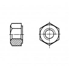 Гайка ГОСТ 10495-80 шестигранная для фланцевых соединений