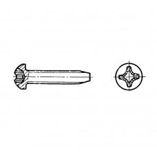 Винт ГОСТ 10621-80 самонарезающий с полукруглой головкой крестообразный шлиц