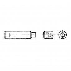 Винт ГОСТ 11075-75 установочный с цилиндрическим концом и шестигранным углублением под ключ