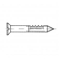 Шуруп ГОСТ 1145-80 с потайной головкой