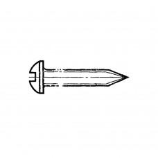 Винт ГОСТ 11650-80 самонарезающий с полукруглой головкой и заостренным конецом прямой шлиц