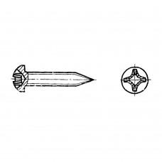Винт ГОСТ 11650-80 самонарезающий с полукруглой головкой и заостренным концом крестообразный шлиц