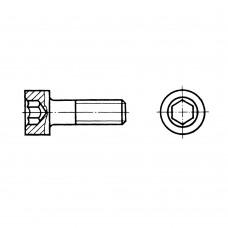Винт ГОСТ 11738-84 с цилиндрической головкой и шестигранным углублением под ключ