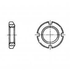 Гайка ГОСТ 11871-88 круглая шлицевая