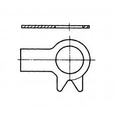 Шайба ГОСТ 13463-77 стопорная с лапкой и носком