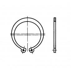 Кольцо ГОСТ 13942-86 пружинное упорное плоское наружное эксцентрическое