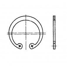 Кольцо ГОСТ 13943-86 пружинное упорное плоское внутреннее эксцентрическое