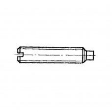 Винт ГОСТ 1478-93 установочный с цилиндрическим концом и прямым шлицем