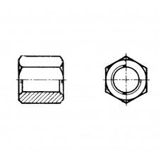 Гайка ГОСТ 15523-70 шестигранная высокая