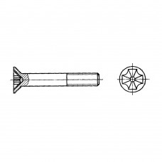 Винт ГОСТ 17475-80 с потайной головкой и крестообразным шлицем