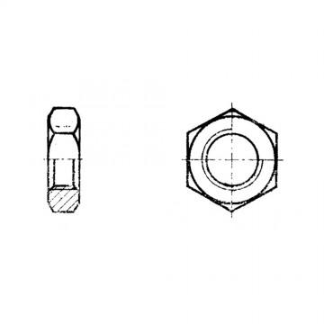 Гайка ГОСТ 5916-70 шестигранная низкая