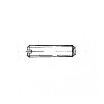 Винт ГОСТ 1479-80 установочный с засверленным концом и прямым шлицем