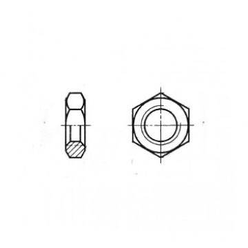 Гайка ГОСТ 2526-70 шестигранная низкая с уменьшенным размером под ключ