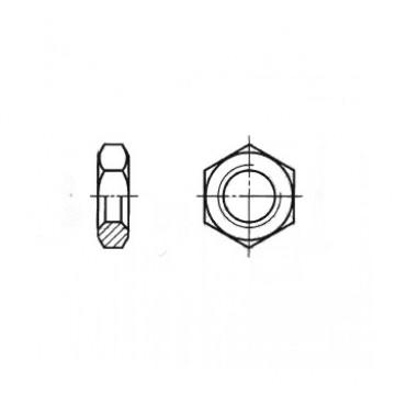 Гайка ГОСТ 5929-70 шестигранная низкая