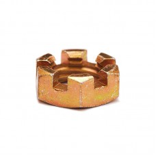 Гайка ОСТ 1 33047-80 низкая прорезная шестигранная