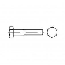 DIN 931 Болт М6* 75 с неполной резьбой, сталь нержавеющая А2