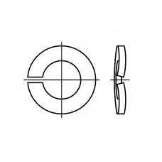 DIN 128 Шайба 8 пружинная форма В одновитковая, сталь нержавеющая 1.4310