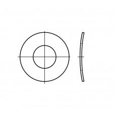 DIN 137 Шайба 3 пружинная, тарельчатая, волнистая, форма В, сталь нержавеющая 1.4310