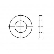 DIN 1440 Шайба 6 плоская, усиленная под палец, сталь нержавеющая А4