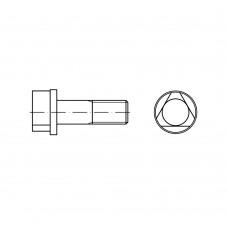 DIN 22424 Болт 8* 30 с трехгранной головкой и буртиком, сталь 8.8