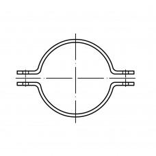 DIN 3567 Хомут 43* 32 равнобедренный, грунтованный, сталь нержавеющая 1.4571