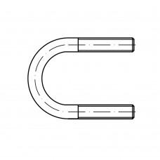 DIN 3570 Болт 120 U-образный, сталь нержавеющая А4