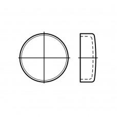 DIN 443 Крышка 20 для укупорки вдавливанием, сталь