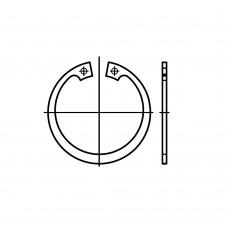 DIN 472 Кольцо 85 стопорное, сталь нержавеющая 1.4122