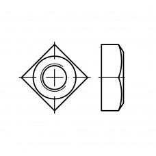 DIN 557 Гайка 12 квадратная с фаской, сталь нержавеющая А4