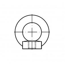 DIN 582 Рым-гайка 24 кованая, сталь, цинк