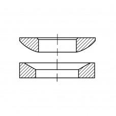 DIN 6319 Шайба 14,2 сферическая форма D, сталь