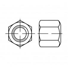 DIN 6330 Гайка 20 шестигранная высокая, сталь нержавеющая А4