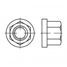DIN 6331 Гайка 27 шестигранная, высокая, сталь 10.9