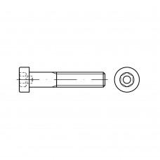 DIN 6912 Винт М4* 12 с цилиндрической головкой и внутренним шестигранником, сталь нержавеющая А4