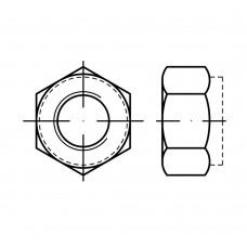 DIN 6924 Гайка М5 шестигранная, сталь нержавеющая А4