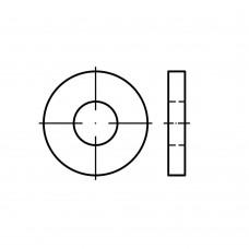DIN 7349 Шайба 10,5 плоская, увеличенная, усиленная, сталь нержавеющая А4
