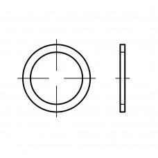 DIN 7603 Кольцо 6,5* 9,5* 1 уплотнительное, медь